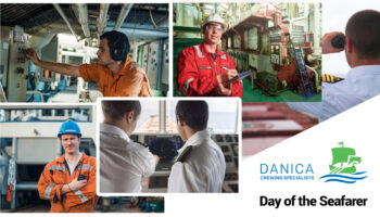 Danica salutes seafarers on Day of the Seafarer